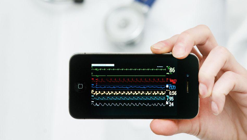 Herzfrequenz und Co. als Anzeige auf dem Smartphone: Nicht jeder Gesundheits-App sollte man blind vertrauen
