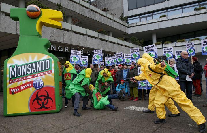 Demo in Hamburg gegen Glyphosat-Einsatz