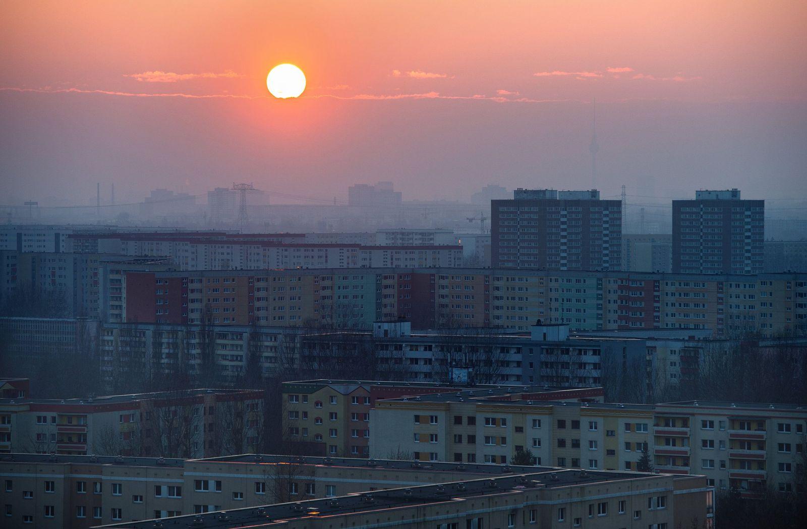 Sonnenuntergang über Berlin