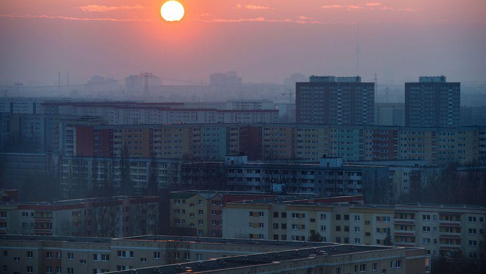 Berlin (Archiv): Wenig bezahlbarer Wohnraum