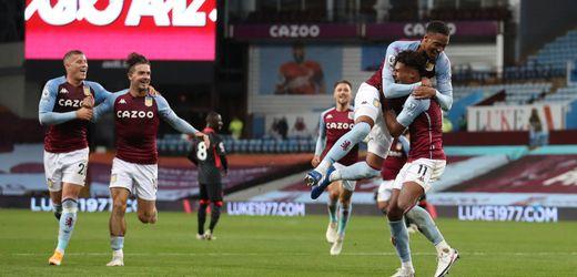 Premier League: FC Liverpool kassiert bei Aston Villa sieben Gegentore
