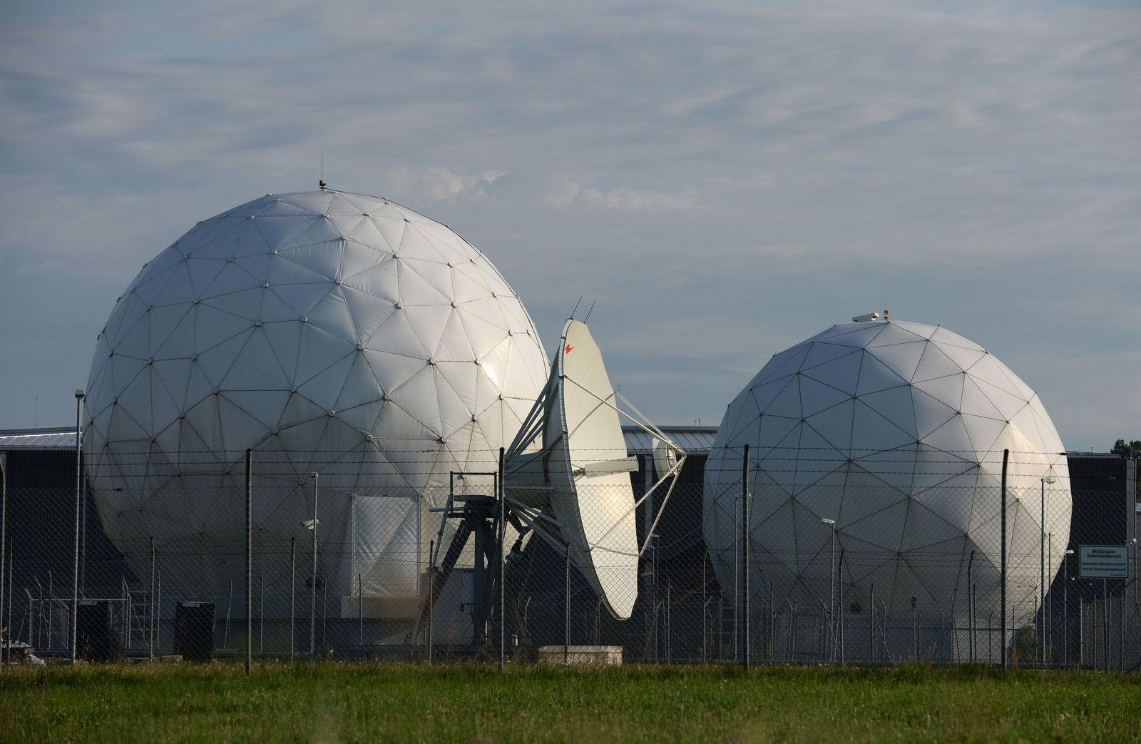 Ehemalige NSA-Abhörstation Bad Aibling