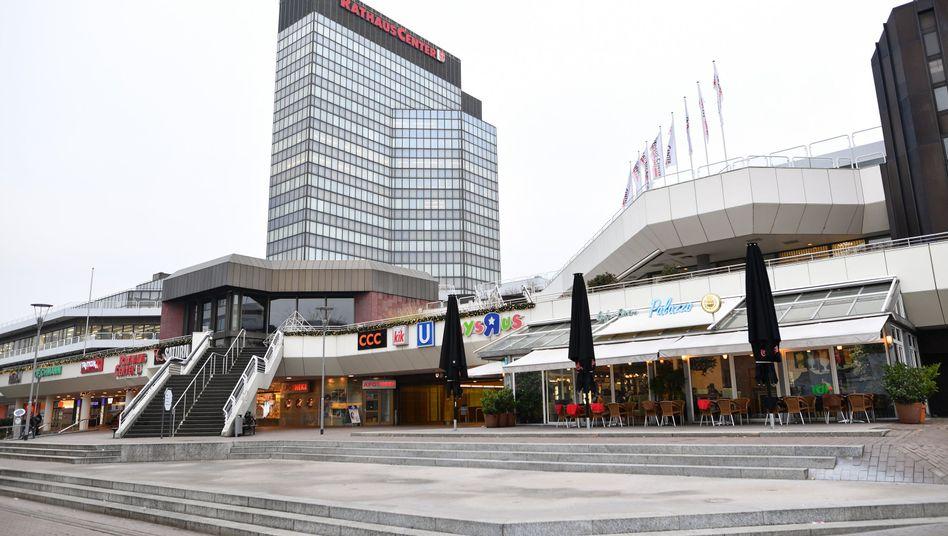 Einkaufszentrum in Ludwigshafen