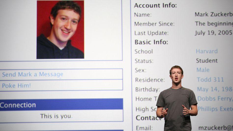 """Mark Zuckerberg bei Timeline-Vorstellung: """"Ganze Lebensgeschichte auf einer Seite"""""""