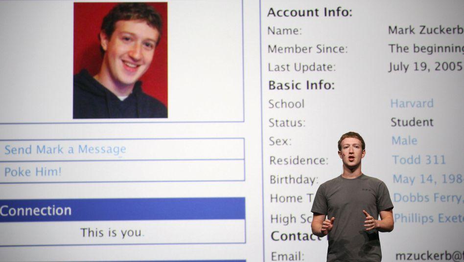 Gründer Zuckerberg: Lange zögerte er, Facebook an die Börse zu bringen