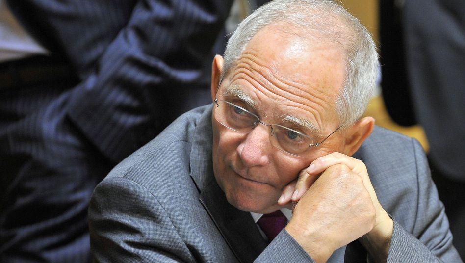 Finanzminister Schäuble: Chaotische Verhandlungen