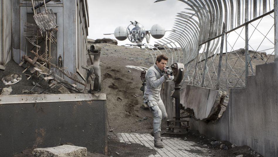 Science Fiction Thriller Oblivion Mit Tom Cruise Der Spiegel