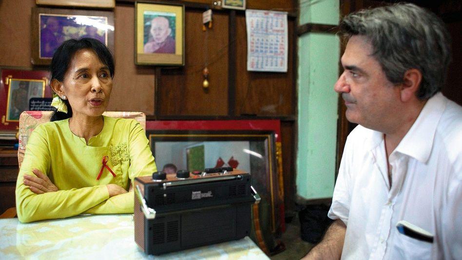 Suu Kyi, Thielke in Rangun