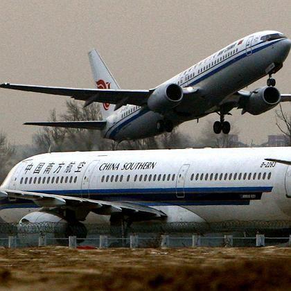 Flugverkehr: Lärm lässt Blutdruck steigen.