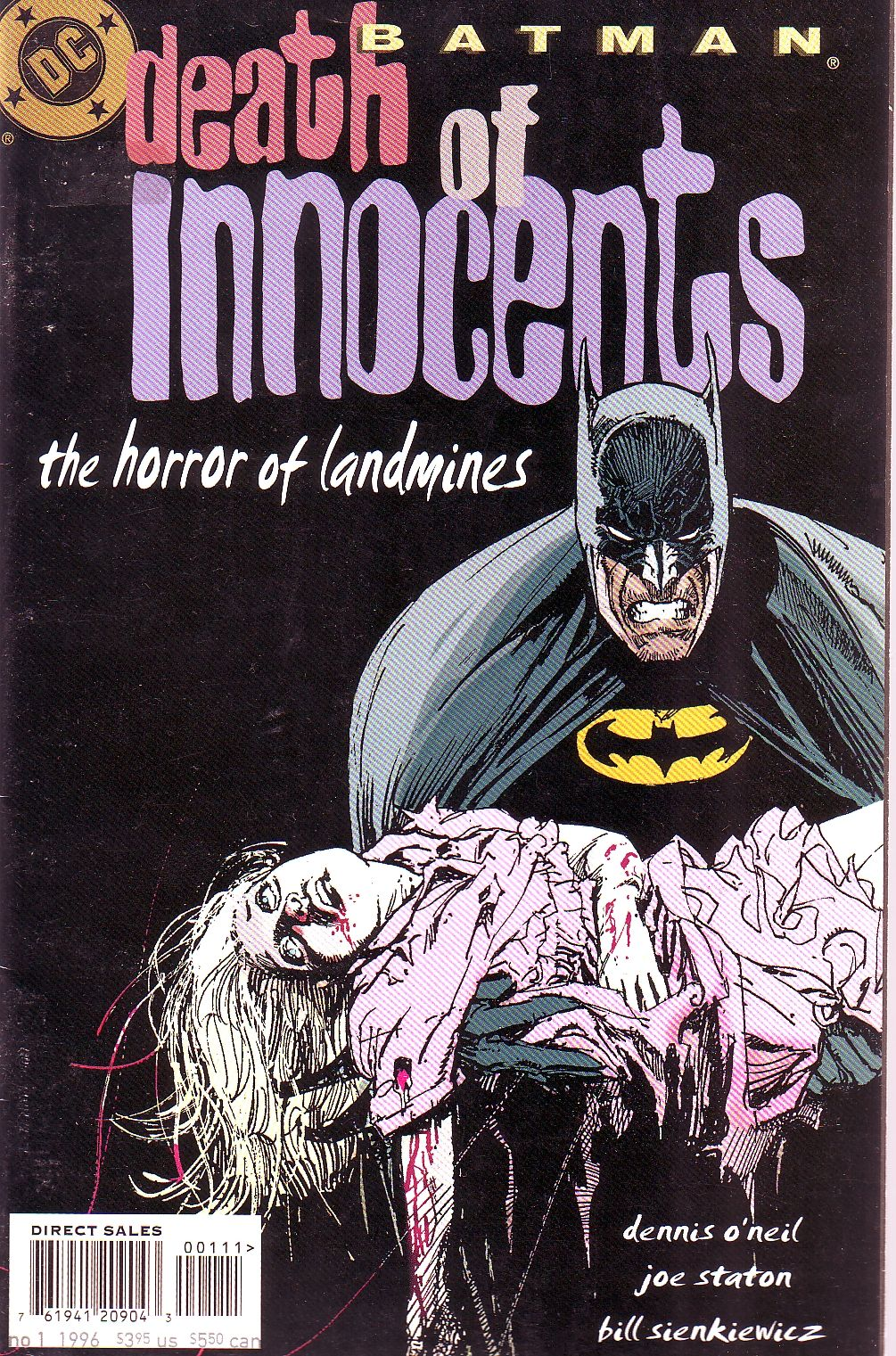 Batman/ death of innocents