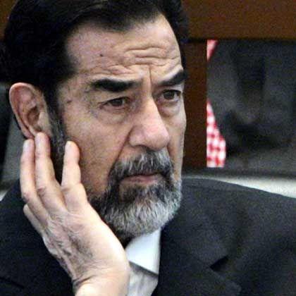 Saddam vor Gericht: Henker-Bewerbungen aus allen drei ethnischen Gruppierungen des Irak