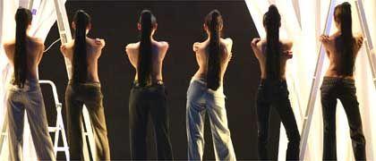 Blick aufs Wesentliche: Hier kommen die Hosen so richtig zur Geltung