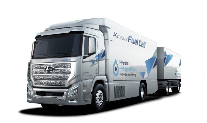 Lkw mit Brennstoffzellenantrieb von Hyundai