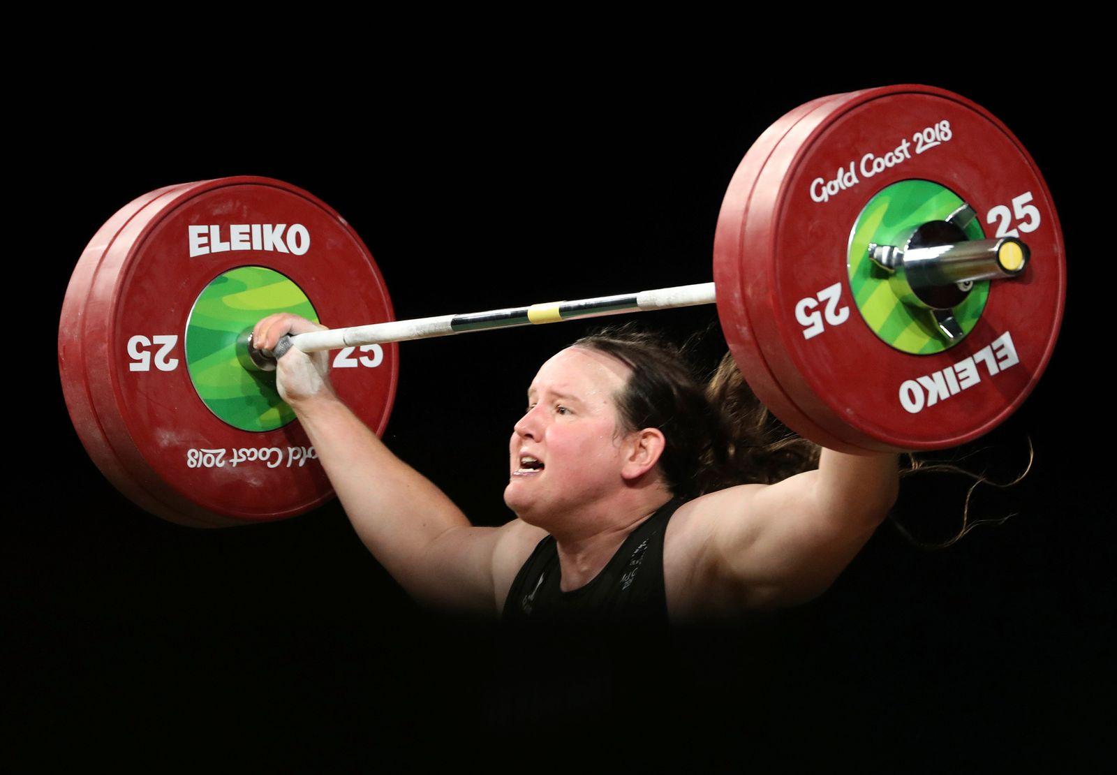 Australia Transgender Weightlifter