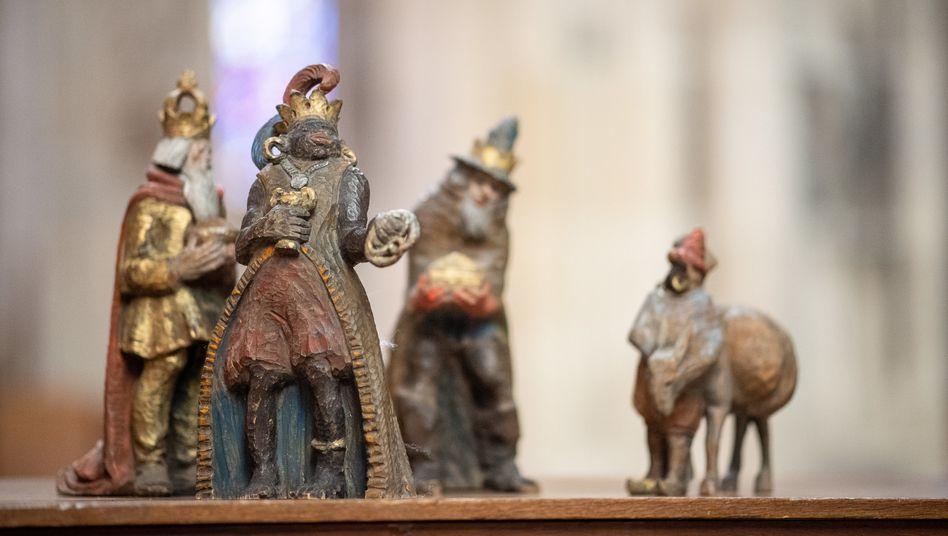 """Melchior-Krippenfigur in Ulm: """"Rassistische Karikatur"""""""