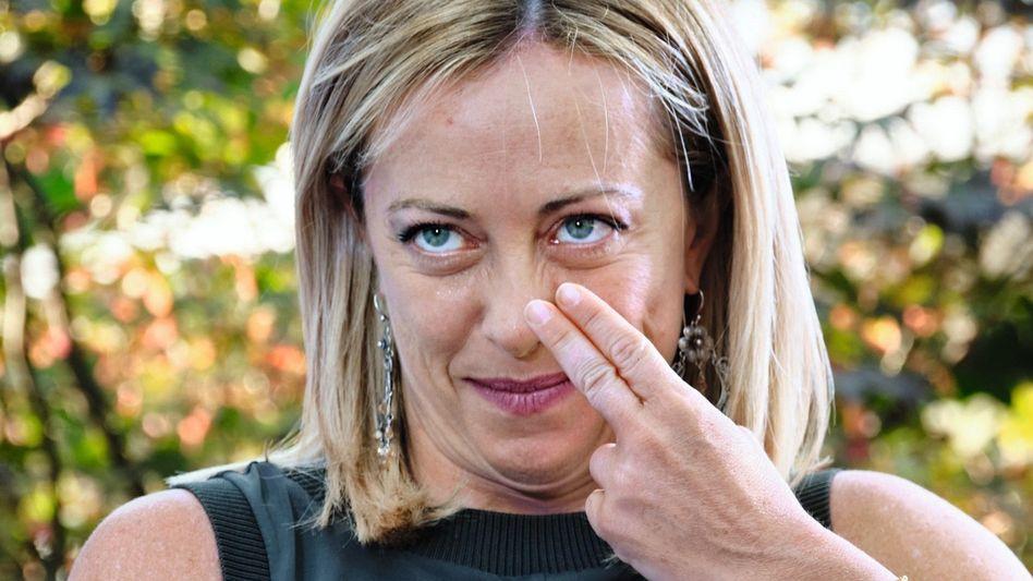 Fratelli-d'Italia-Parteichefin Meloni: »Ich muss mich für nichts schämen«