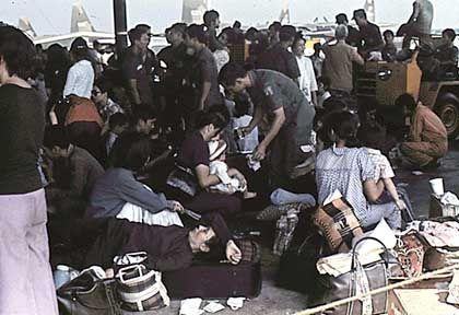 Operation Babylift: Flucht aus den chaotischen Zuständen in Saigon