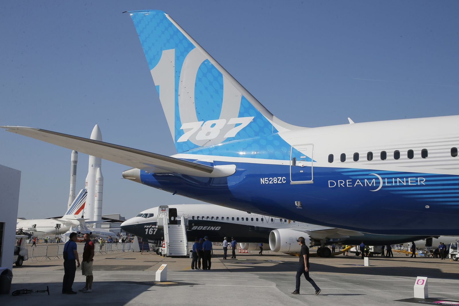 Le Bourget / Boeing 787-10
