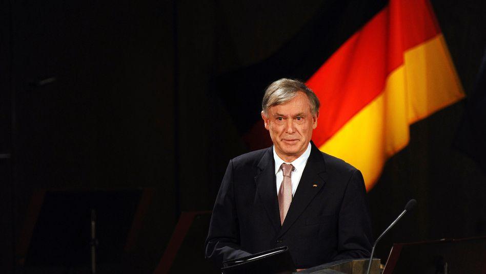 Horst Köhler: Der Bundespräsident hat keine Einwände gegen die Euro-Rettung
