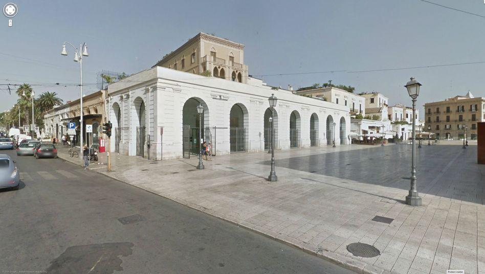 Galerie Sala Murat in Bari: Kunstwerke im Eimer