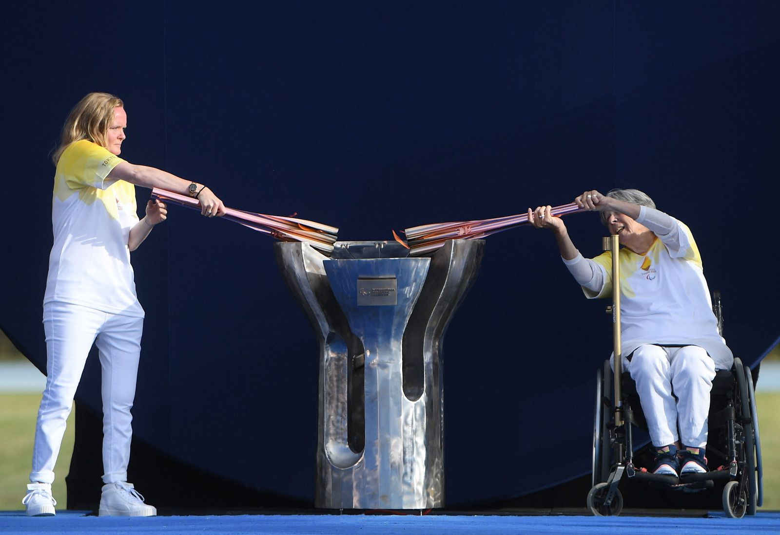 Paralympic Heritage Flame Lighting Ceremony 2020