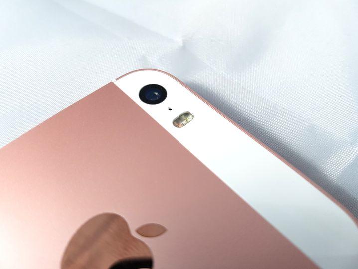 Die Kamera des iPhone SE