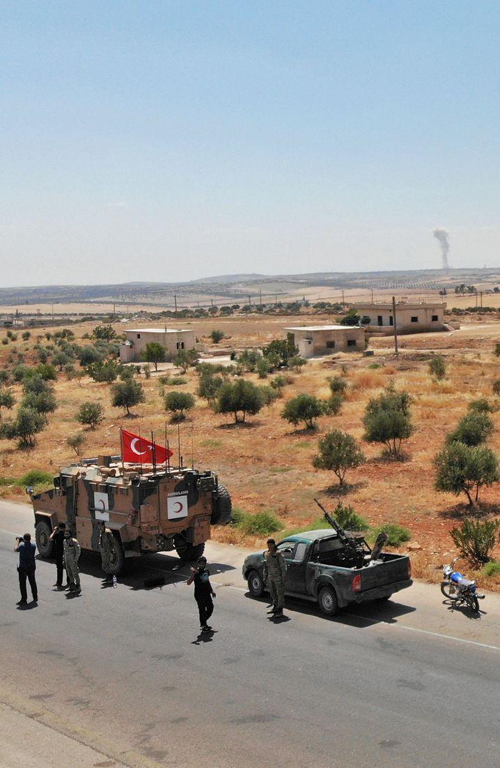Türkischer Militärkonvoi in Idlib: Tödliche Sorglosigkeit