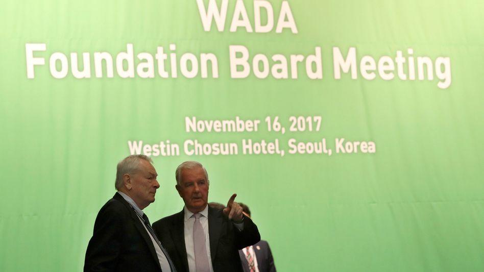 IOC-Mitglied Pound, Wada-Präsident Reedie