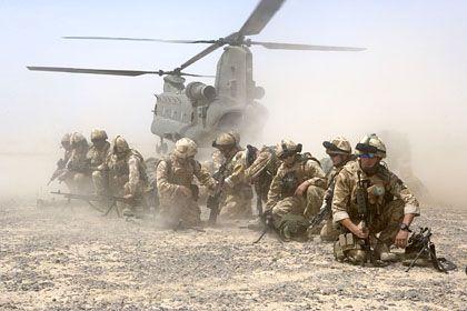 Chinook-Hubschrauber-Einsatz in Afghanistan: Pannen beim britischen Verteidigungsministerium