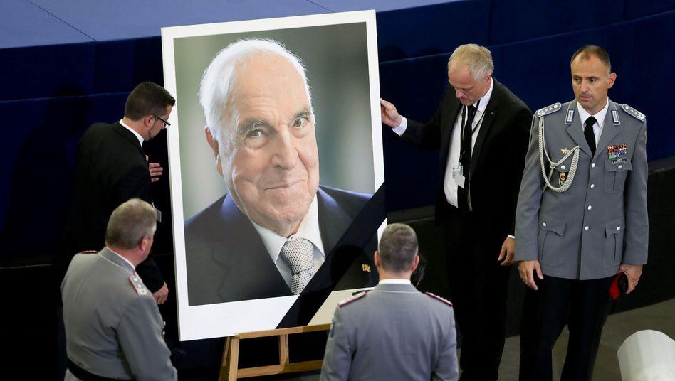 Trauerakt für Helmut Kohl (im Juli)