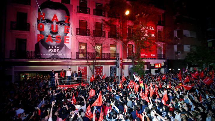 Parlamentswahl in Spanien: Sánchez auf Siegeskurs