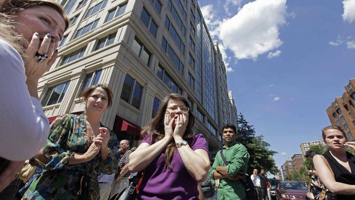 Erdbeben an der Ostküste der USA: Nervenrütteln am Nachmittag