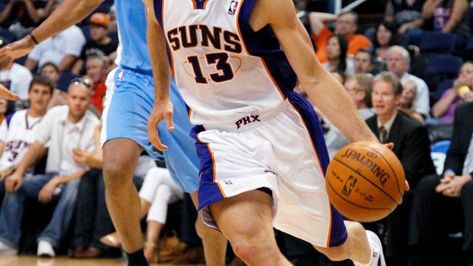 NBA-Star Nash: Drei-Jahres-Vertrag über 25 Millionen Dollar
