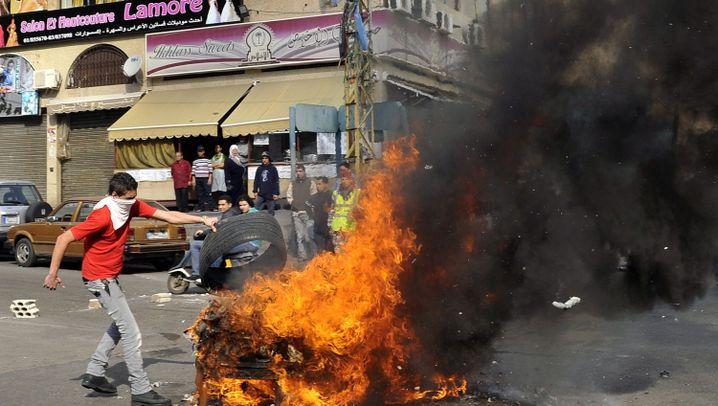 Libanon: Tage des Zorns