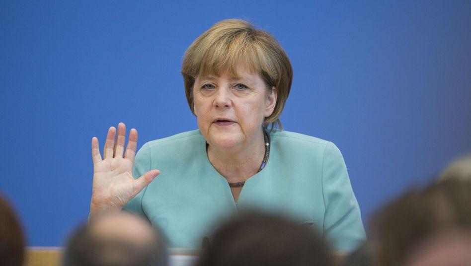 """Kanzlerin Merkel: """"Deutschland ist kein Überwachungsstaat"""""""