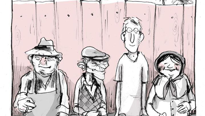 Zivi-Comic: Er will doch nur helfen