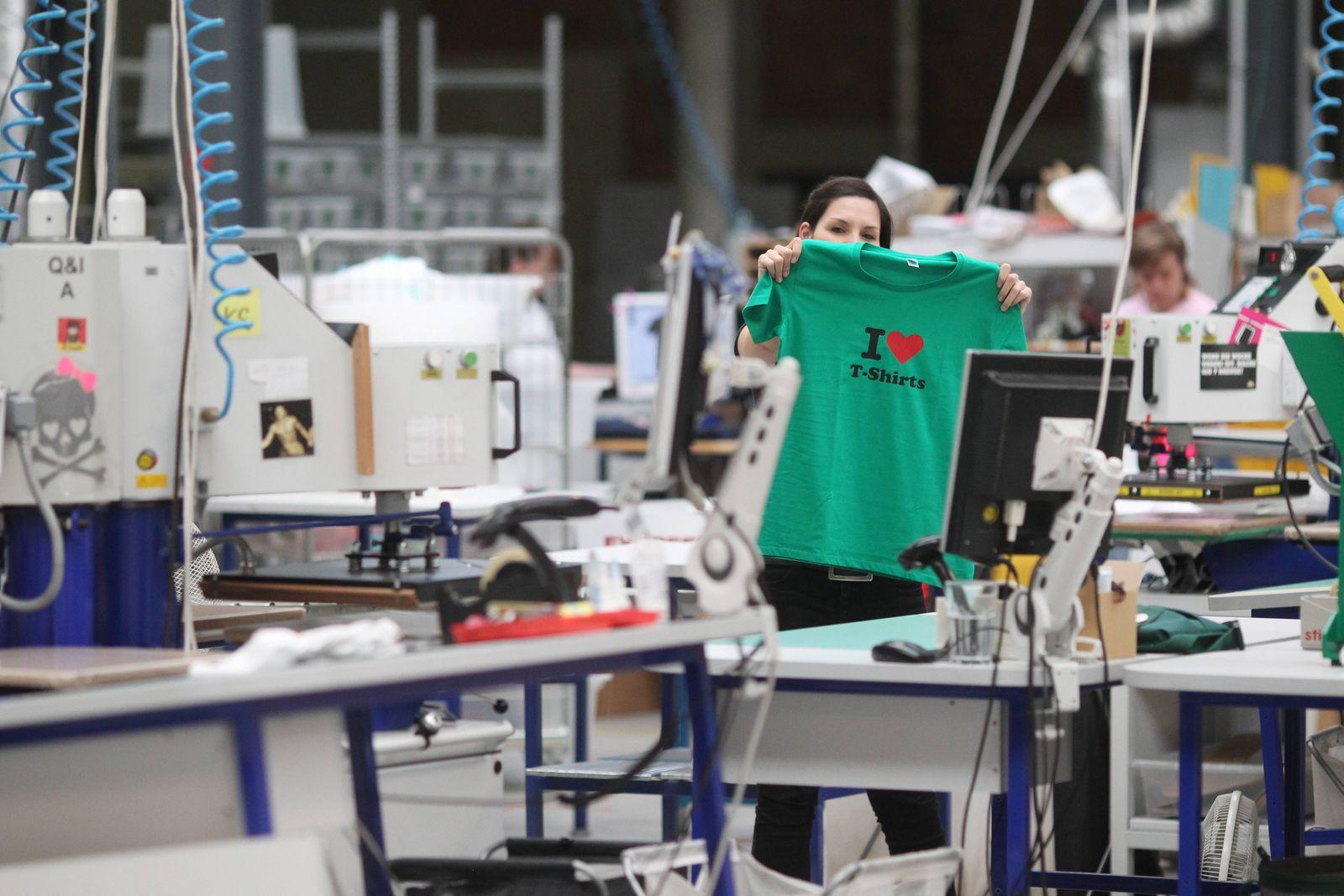 Spread Shirt Social Commerce Unternehmen Spread Shirt in Leipzig am 02 07 14