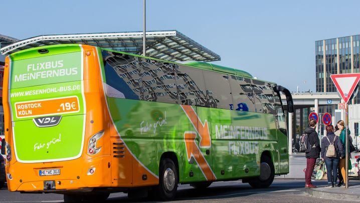 Marktanteile der Fernbusriesen nach Fusion: Diese Fernbuslinienanbieter bleiben noch übrig
