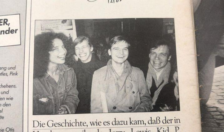 »Sounds«-Mitarbeiter 1983