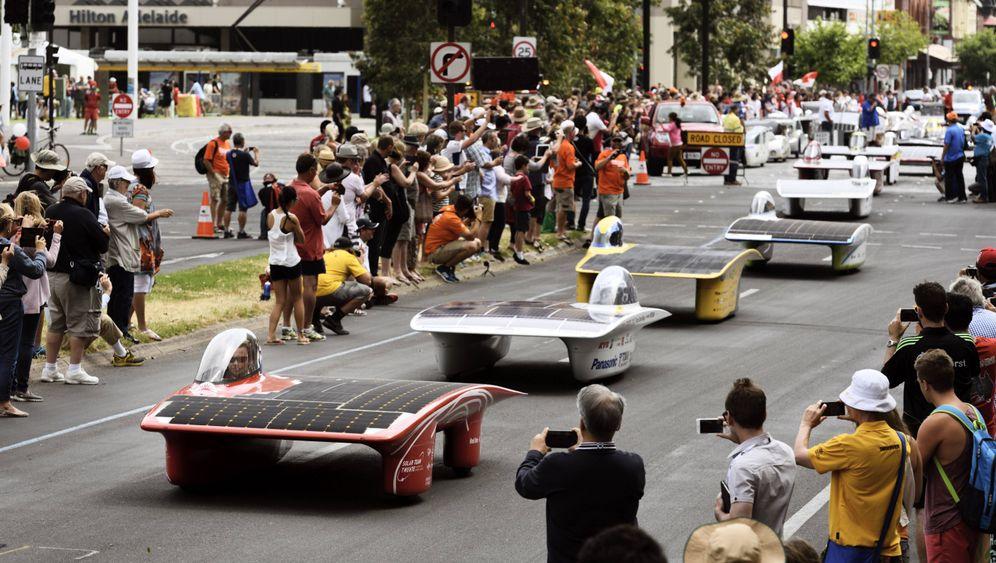 Solar World Challenge: Das Rennen der Öko-Autos