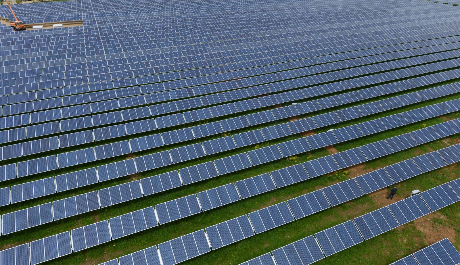 Eröffnung Solarpark Mutlanger Heide