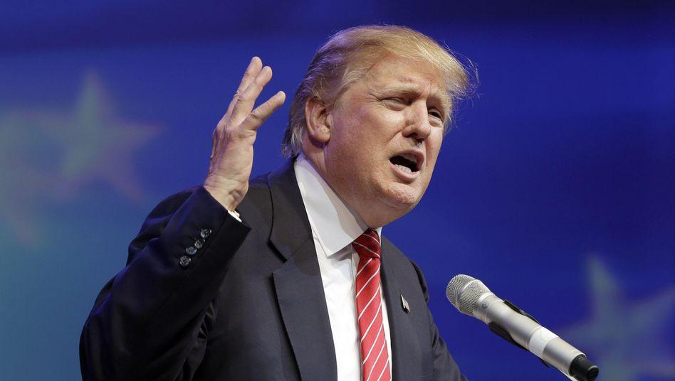 Milliardär Trump: Macht er in der TV-Debatte mal auf seriös?