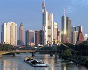 Banken-Skyline von Frankfurt: Experten rechnen mit 1,25 Prozent zusätzlichem Wachstum