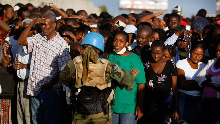 Einsatz in Haiti: Helfer in der Hölle