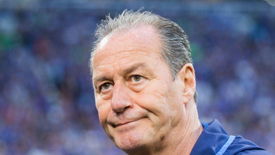 Schalkes Trainer Huub Stevens brachte nicht den erhofften Aufschwung.