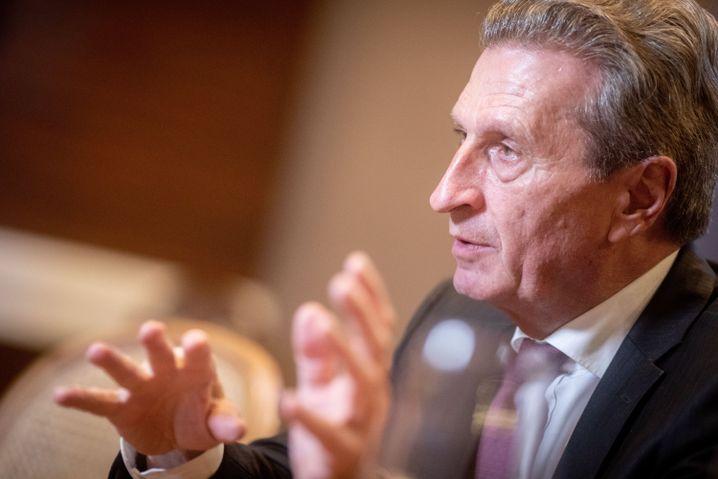 EU-Kommissar Oettinger rechnet schon 2019 mit höheren Beiträgen