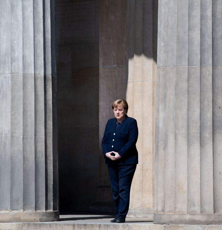Angela Merkel: The German chancellor has once again become the target of protesters and hatred from the far right. Some fear it will spill over into the mainstream.