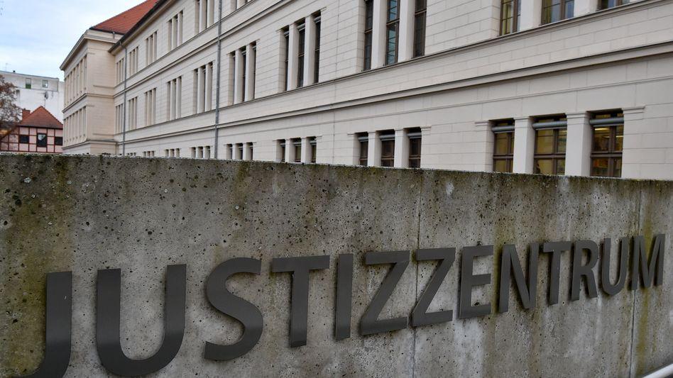 Justizzentrum in Potsdam (Archiv)