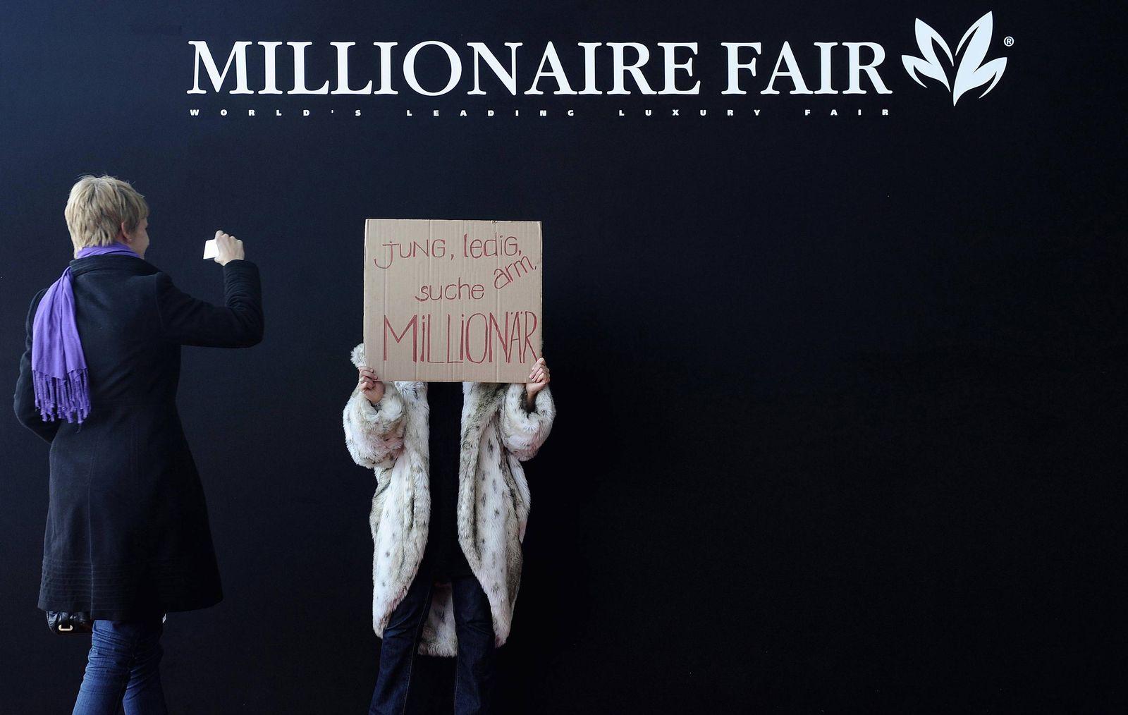 NICHT VERWENDEN Millionaersmesse Millionaire Fair Millionaer