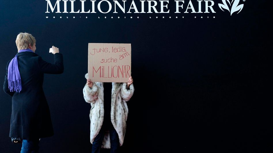 Reichenmesse: Die meisten Millionäre wohnen in den USA